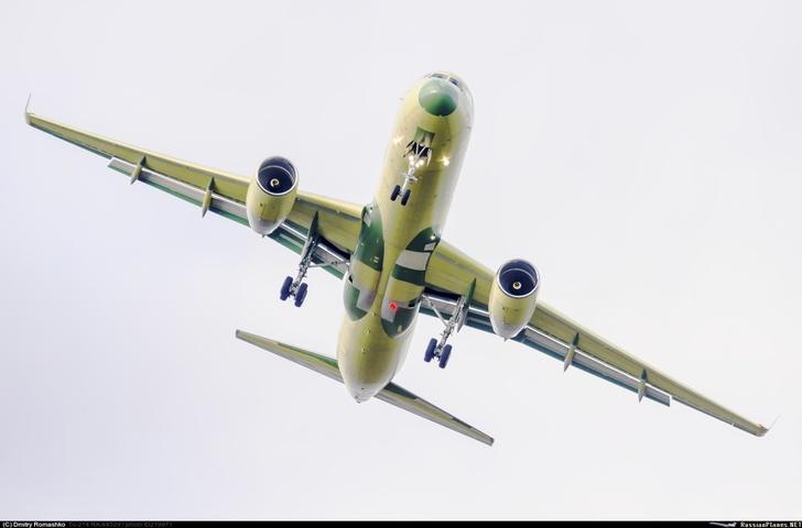 Очередной Ту-214 совершил первый полёт