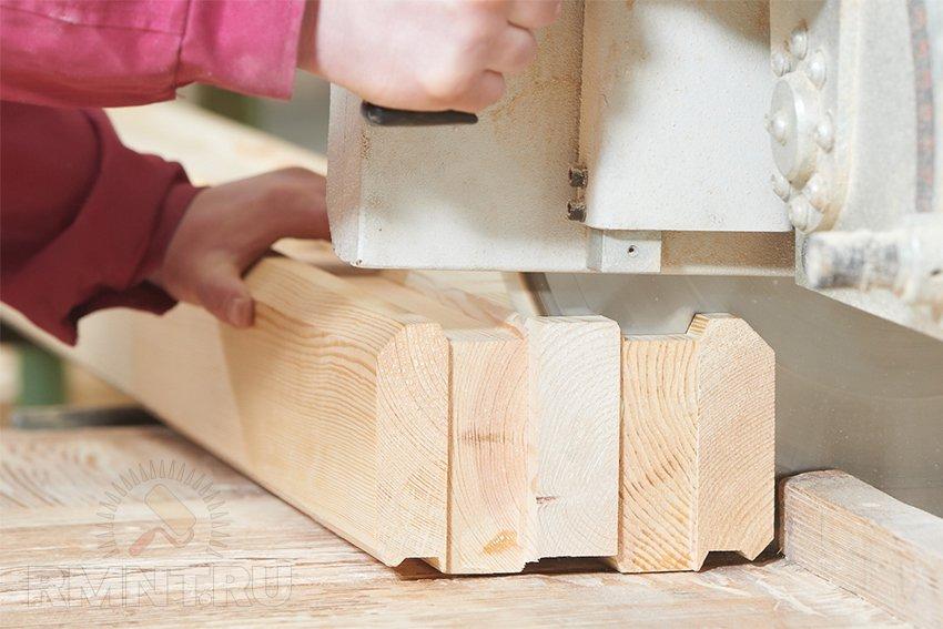 Изготовить клееный брус своими руками