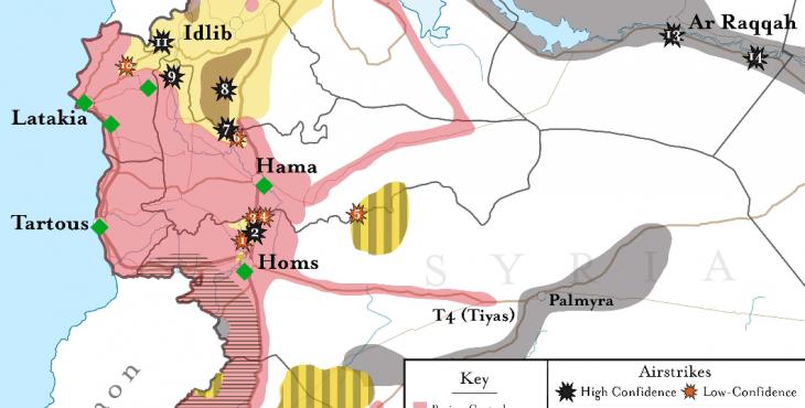 Год после вхождения в Сирию. Итоги.