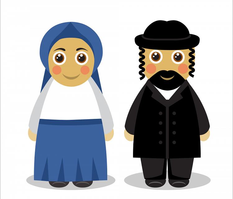 Про еврейскую пару, попавшую…