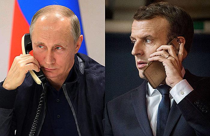 Как интерпретировать двойственную позицию Макрона по отношению к Путину?