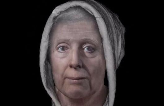Ученые реконструировали лицо погибшей 313 лет назад шотландской ведьмы