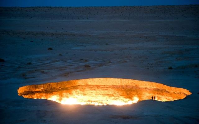 Врата ада. Самые страшные места на планете. Просто жуть (фото и видео)