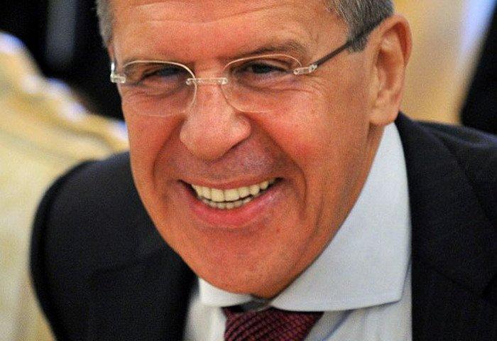 Лавров удачно пошутил над ситуацией вокруг России