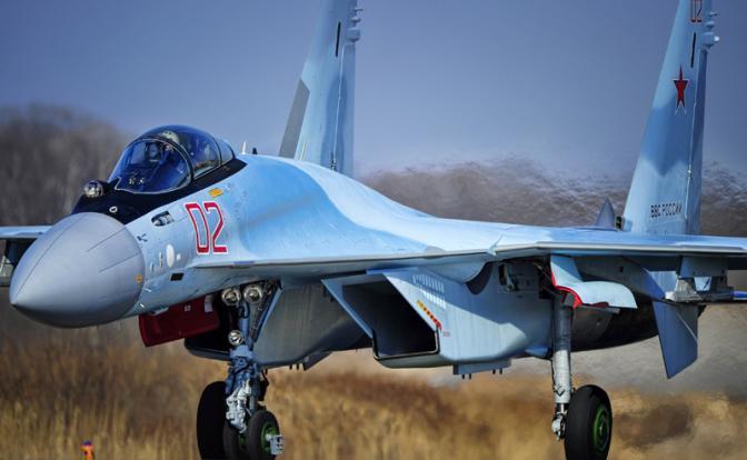 Почему F-22 испугался российского Су-35С
