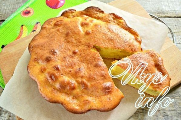 рецепт яблочного пирога в духовке на кефире планки, вставленные
