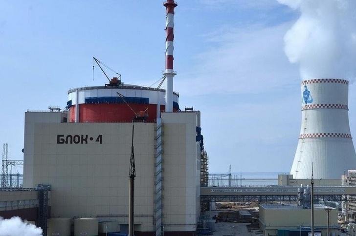Ростовская АЭС: новый энергоблок №4 выведен на полную мощность