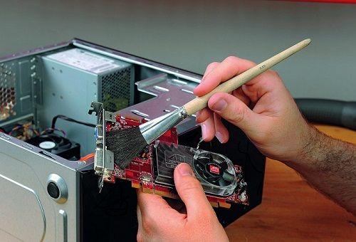 Как правильно почистить компьютер от накопившейся пыли самостоятельно
