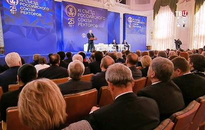 Путин пообещал поддержку вузам за успешные исследования