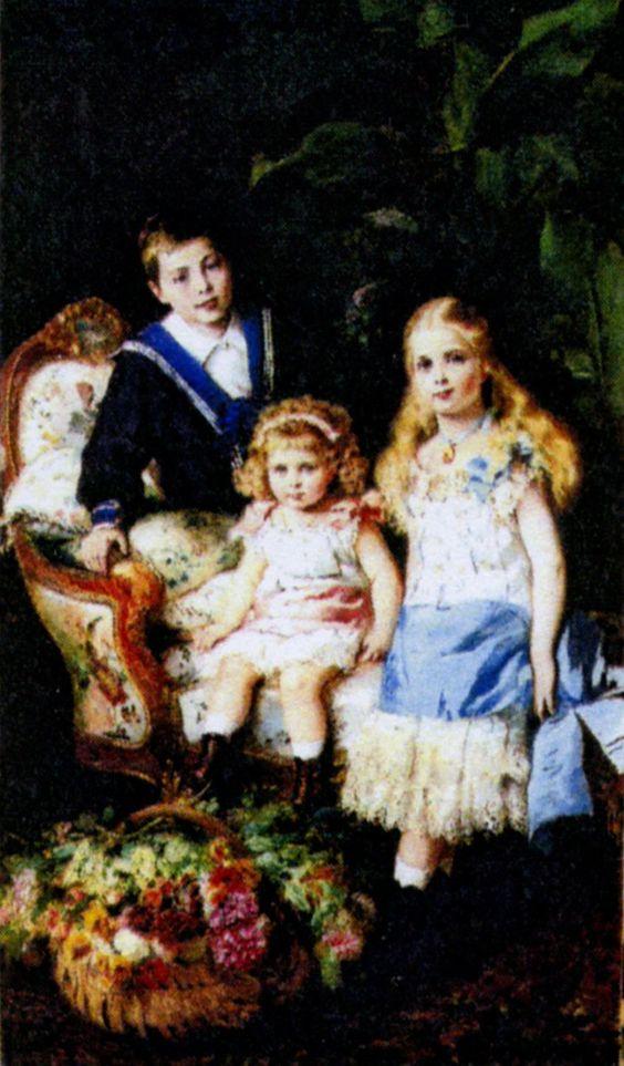 Портреты внебрачных детей русских императоров