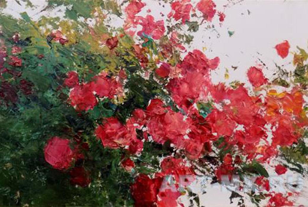 Пышное цветение лета - великолепные цветочные натюрморты Дмитрия Ермолова