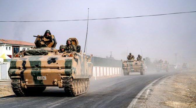 Турецкий «Щит Евфрата» упёрся в войска Асада