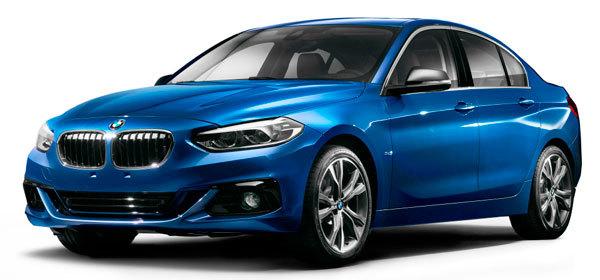 BMW рассекретила свой самый маленький седан