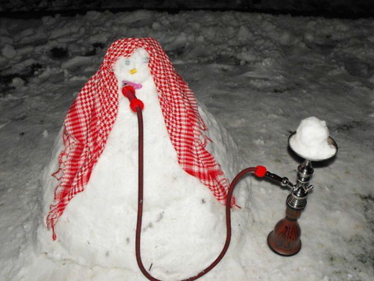 Самые креативные снеговики