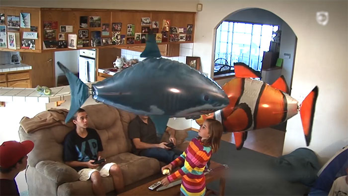 'Air Swimmers' Are Probably The Coolest Balloons Ever!