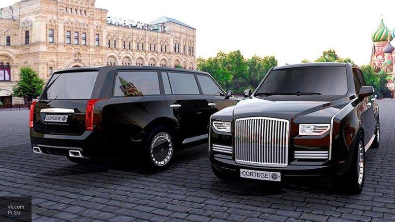 """Автомобиль проекта """"Кортеж"""" технически готов везти президента на инаугурацию"""