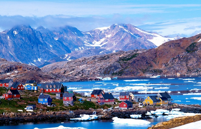 Красивейшее место: остров Гренландия.