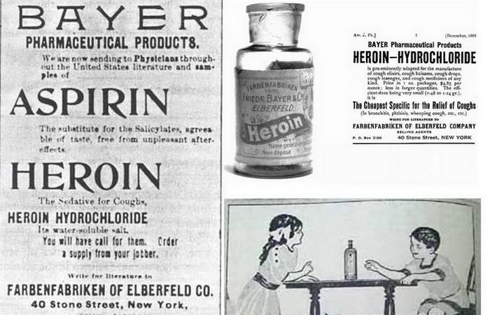 Героин - лекарство от кашля: Как в начале ХХ века и взрослых, и детей лечили ядом