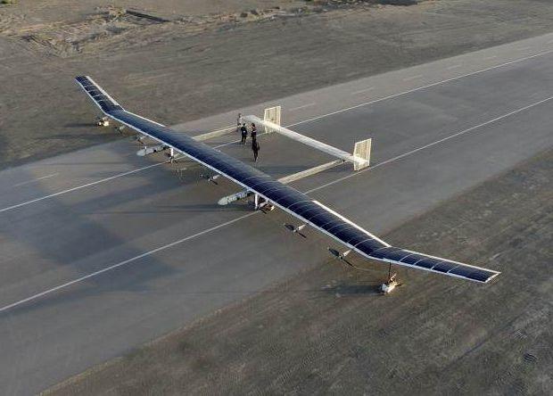 Китай испытал высотный беспилотник на солнечных батареях