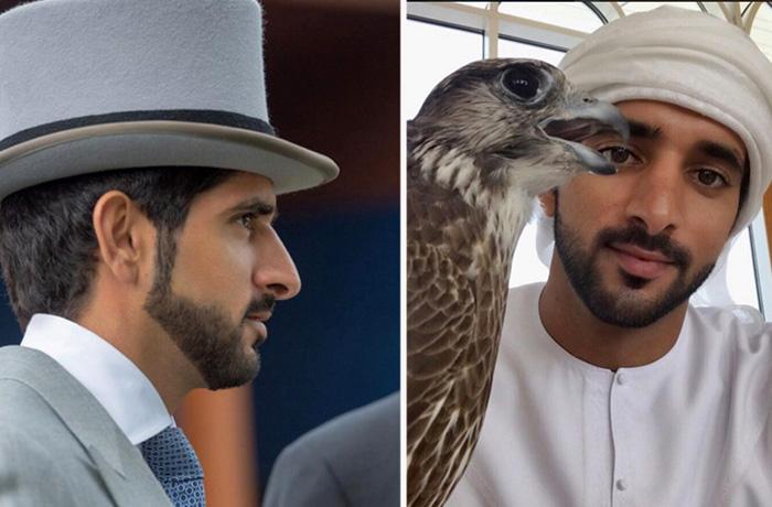 Наследный принц Дубая Хамдан ибн Мохаммед Аль Мактум.