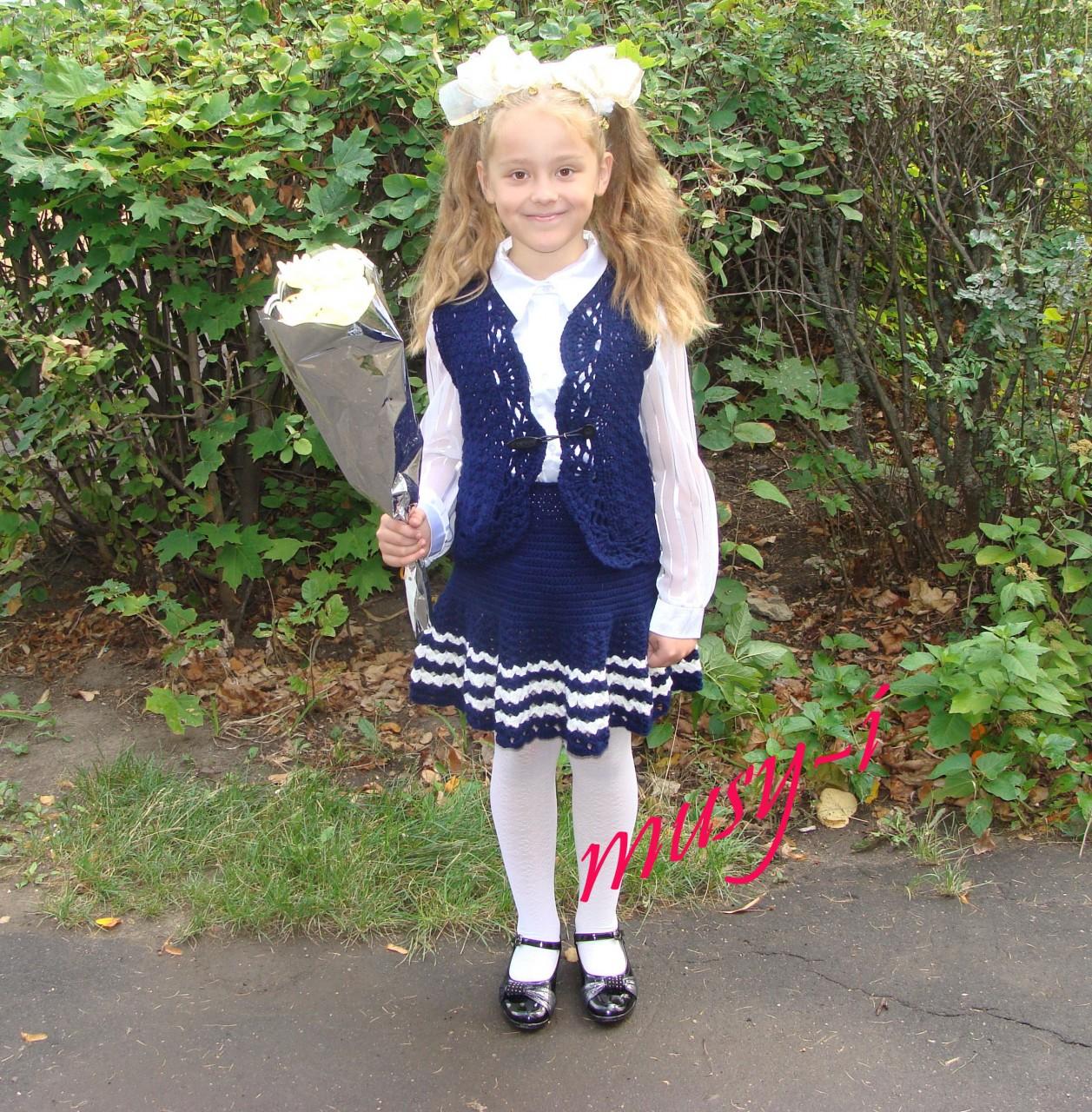 Школьная форма вязание