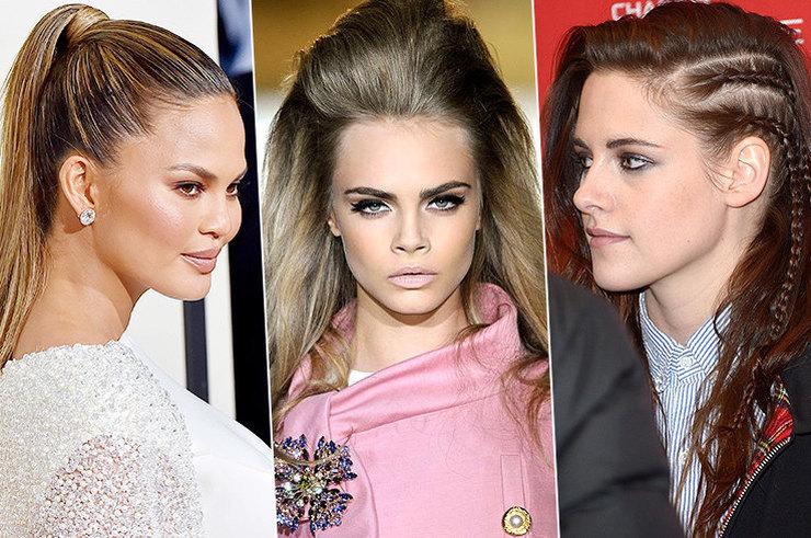 Черный список: пучки, хвосты, локоны и другие укладки, которые портят волосы