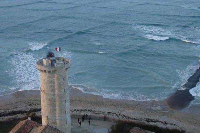 Квадратные волны едва не сто…