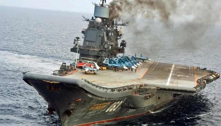 Верховный главнокомандующий армии Ливии посетил «Адмирал Кузнецов»