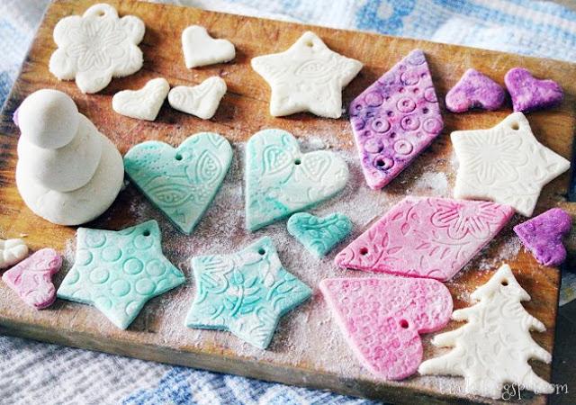 Новогодние украшения из солё…