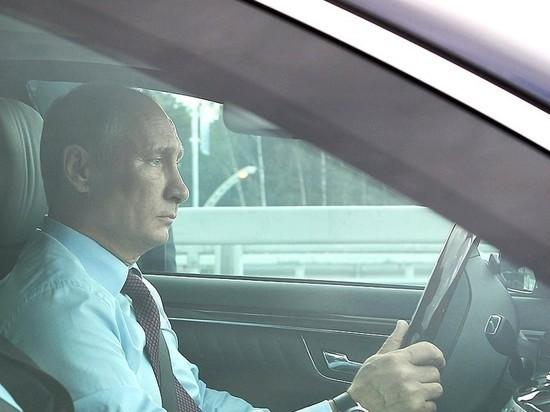 А вдруг заглохнет: Путин снова поедет на свою инаугурацию на Мерседесе