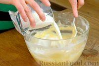 Фото приготовления рецепта: Шпинатные блинчики с начинкой из сельди - шаг №4