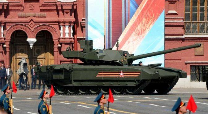 НАТО не подбить «Армату» даже снарядами с ураном