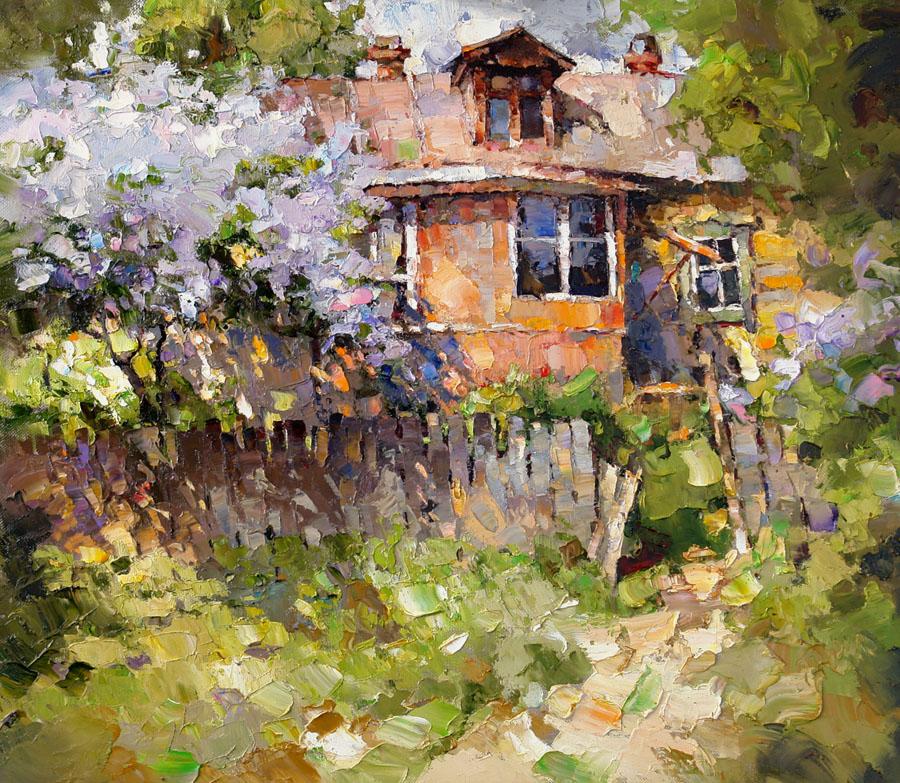 Солнечные пейзажи художника Алексея Зайцева