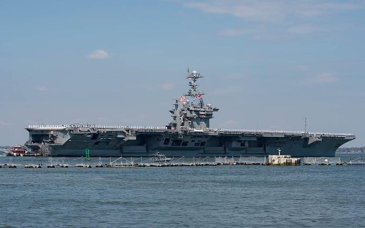 США могут оставить авианосец «Гарри Трумэн» в Средиземном море