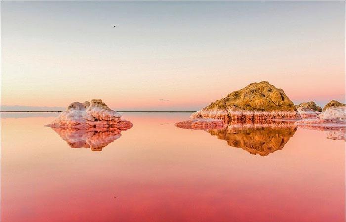 Уникальное месторождение соли. Фото: Сергей Анашкевич.