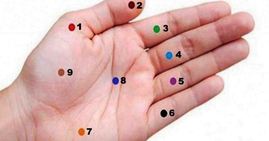Нажмите на эти точки на ладони - и результаты вас очень поразят!