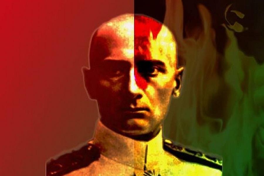 В Омске тайком повесили новую доску адмиралу Колчаку