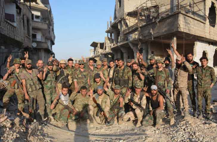 1 200 бывших боевиков «Файлак ар-Рахман» из Восточной Гуты вступили в сирийскую армию