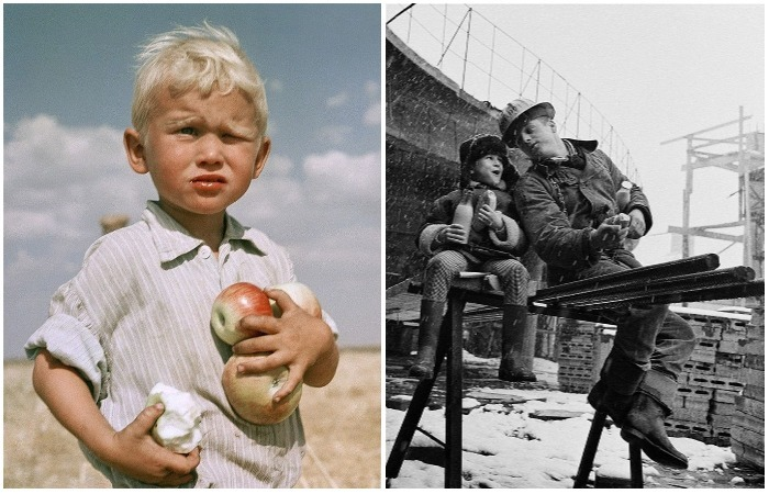Советские люди на фотографиях легендарного фотографа Юрия Абрамочкина