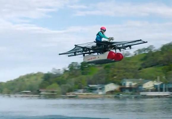 Летающий автомобиль стал реальностью: первые машины от Ларри Пейджа появятся уже летом