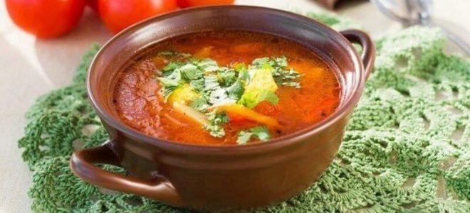суп харчо постный рецепт