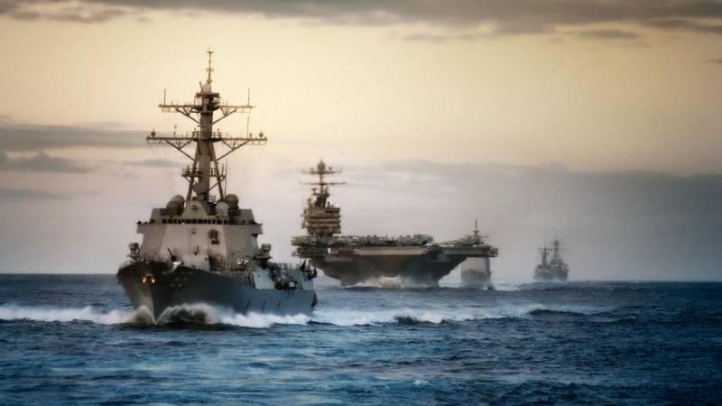 Беспрецедентно великая морская Америка