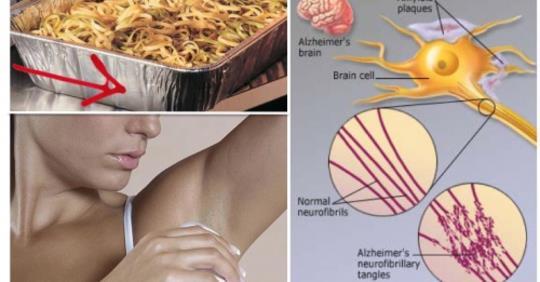 Ваш мозг и внутренние органы наполнены алюминием — эти продукты могут удалить его естественным способом