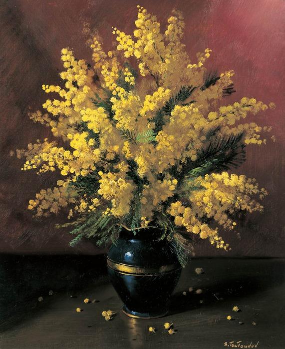 Нежные цветы в рассеянном свете — чарующие натюрморты Сергея Тутунова