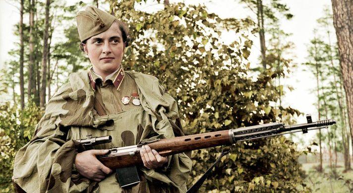 Стоит ли бояться девушки с винтовкой?