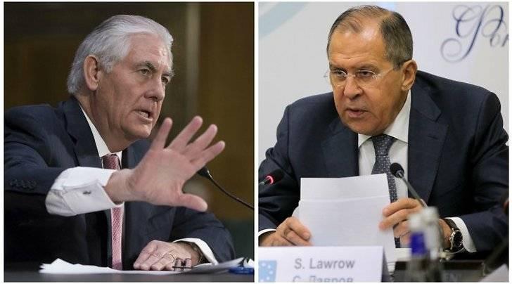 Лавров указал Тиллерсону на иллюзорность попыток санкционного давления на Россию