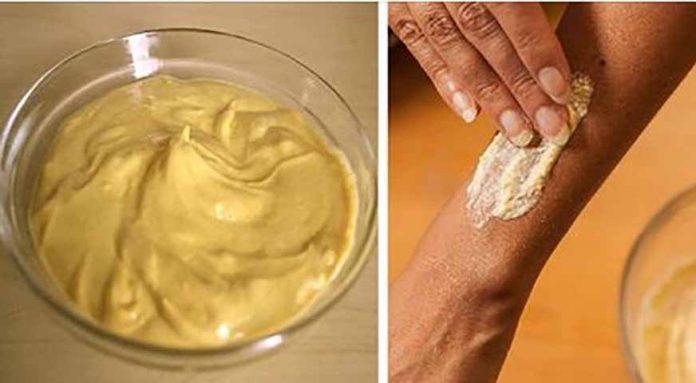 Антисептический рецепт крема с куркумой (помогает лечить раны и царапины)!