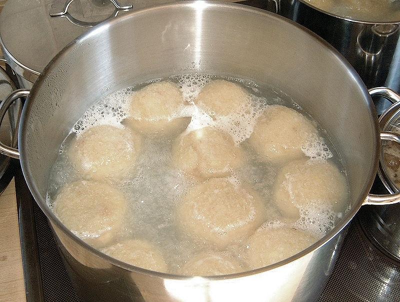 картофельные клецки из пюре
