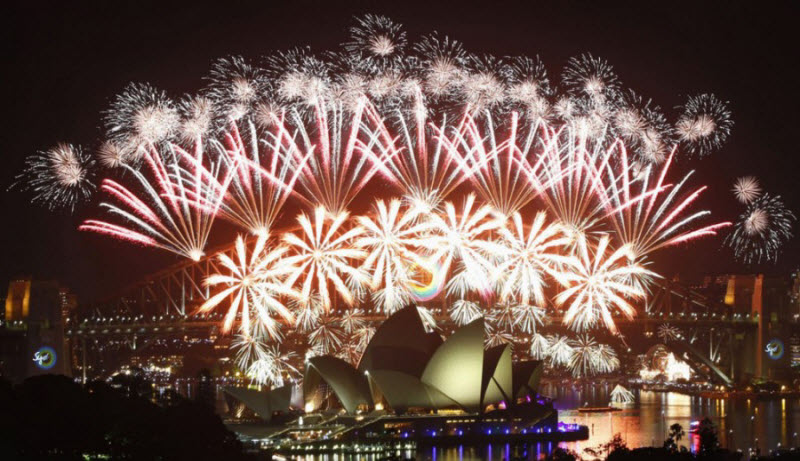 Как празднуют Новый год в разных концах света