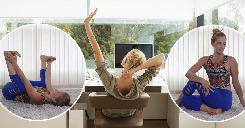 Не можете разогнуться? 7 простых упражнений на растяжку избавят вас от боли в спине
